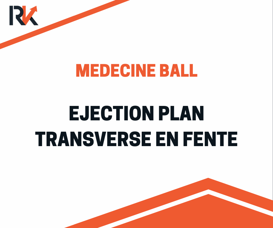 EXERCICE EJECTION MEDECINE BALL