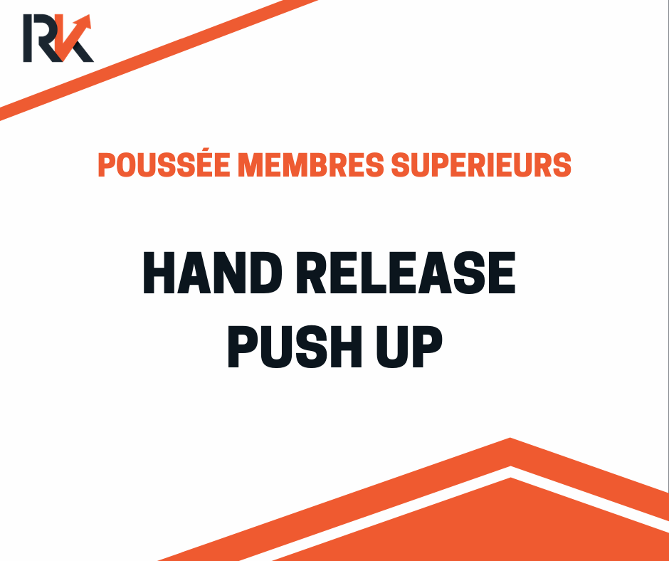 hand release push up démonstration