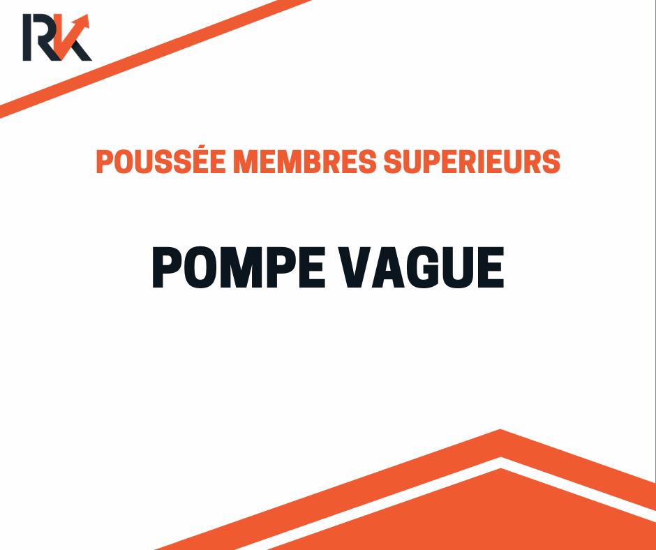 yoga push up - pompe vague