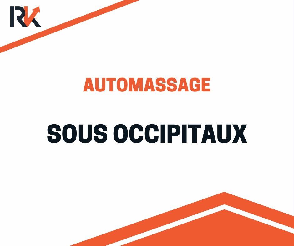 automassage sous occipitaux