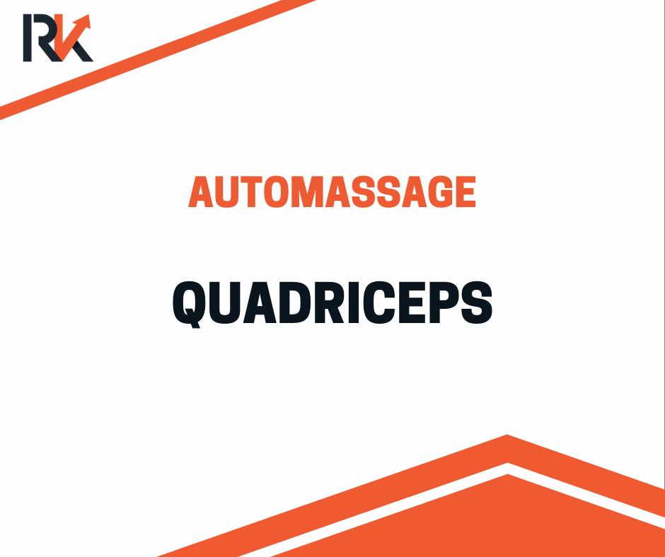 Automassage quadriceps